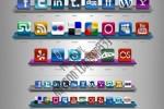 Social Networks Icons cực đẹp